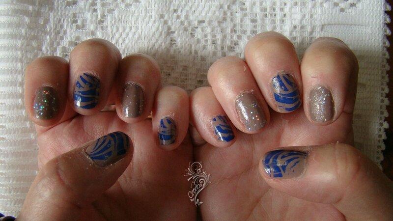 stamping bleu A43 4