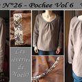 Blouse Pochee Vol6 - Modèle 26