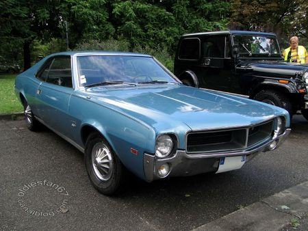 amc javelin sst 343 hardtop coupe 1969 Retrorencard 5