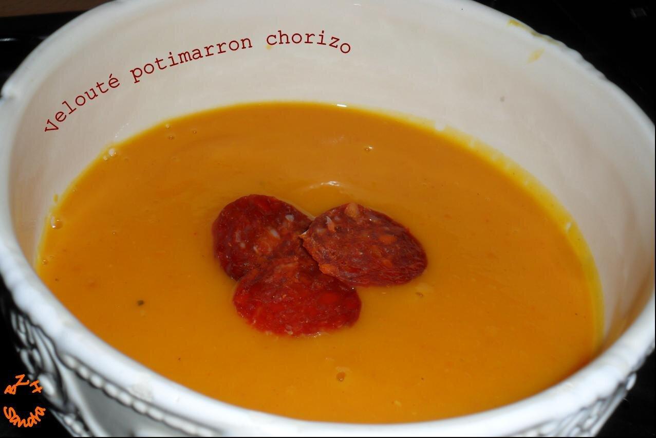 Cake Potimarron Et Chorizo