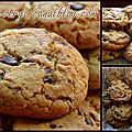 Recette : cookies pépites de chocolat sans plv avec oeuf et gluten