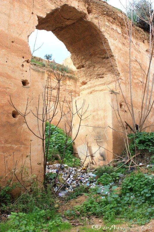 ©10_silo décharge dans Hri Moulay Ismaïl