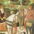 BENOZZO GOZZOLI - Cortège des Rois Mages (détail) - FLORENCE