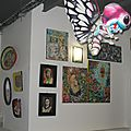 Vue de l'expo...Nuit des Arts - Roubaix - déc 2012