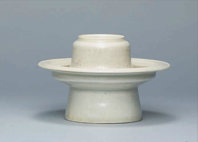 A Qingbai cup stand, Southern Song Dynasty (1127-1279)