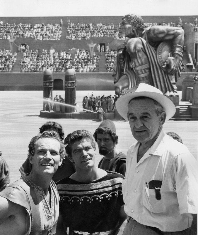 Le trio de choc: Heston, Boyd et Wyler