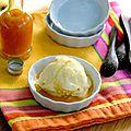Glace yaourt et fruits de la passion pour le yummy day givré