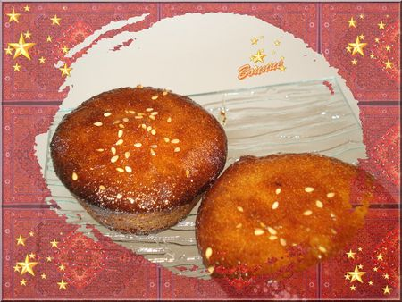 muffins façon makrouds