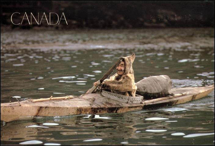 kayak esquimau Canada blog