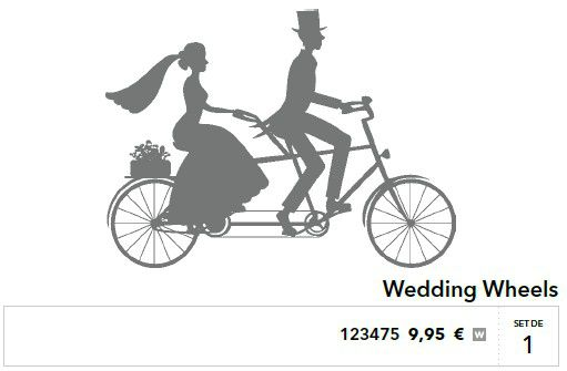 p015 wedding wheels