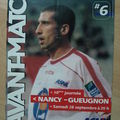 Avant match Nancy-Gueugnon, saison 2002/03