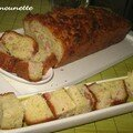Cake entre mer et terre : lardons et saumon