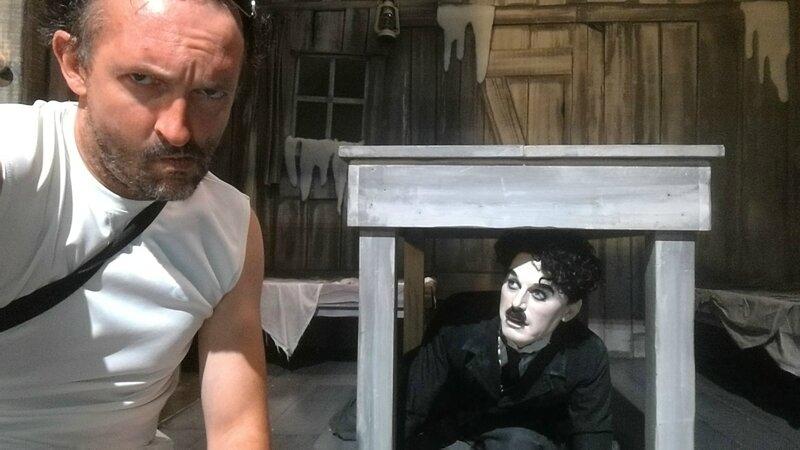 Jénorme à Chaplin's world, Corsier-sur-Vevey (Suisse)