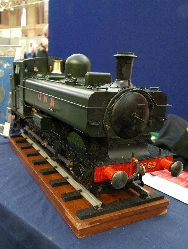 0029 Pannier tank locomotive 16 janvier 2016 - de Meridienne Exhibitions Ltd