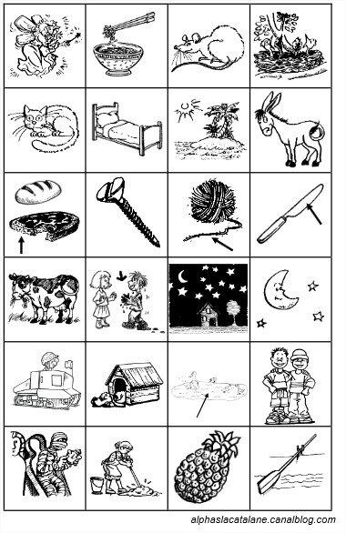 Images premiers mots alphas 2 - LaCatalane