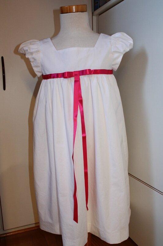 Robe blanche Nath S