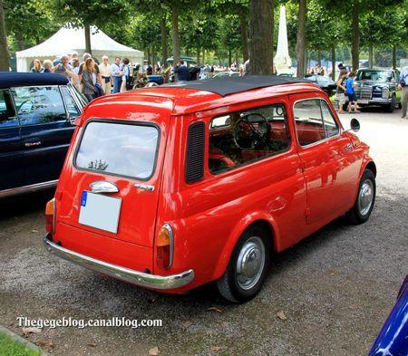 Fiat 500 jardinière (9ème Classic Gala de Schwetzingen 2011) 02