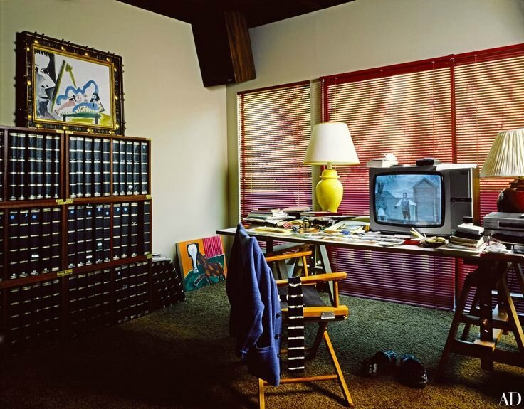 david hockney interior