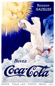 0000_3672_5_Coca_Cola_French_Polar_Bear_Posters