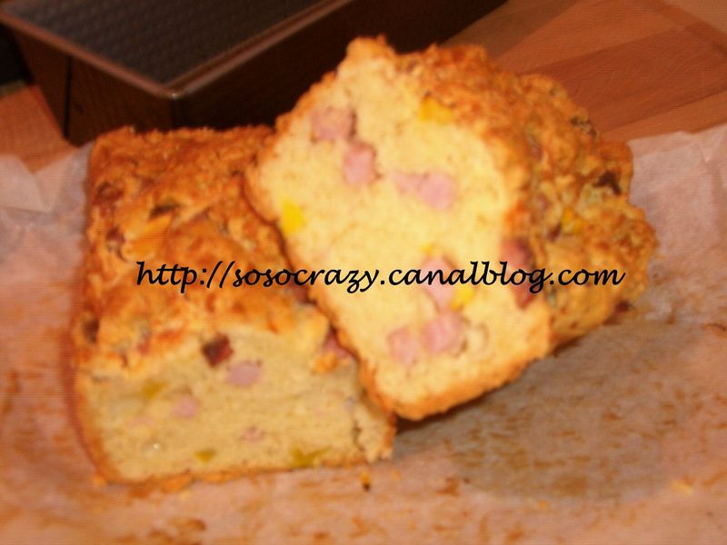 Cake Jambon Fromage Et Poivrons Cook Time