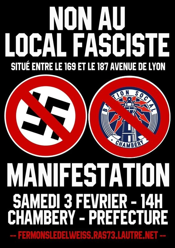 Manif contre local fasciste 01