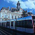 La maquette du tramway de tours (debut)
