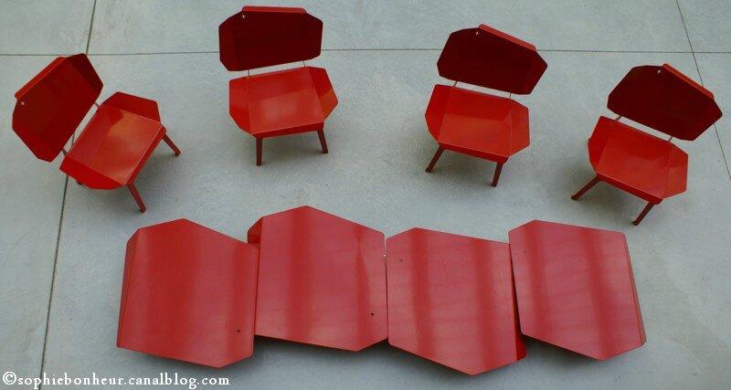 Conluence chaises