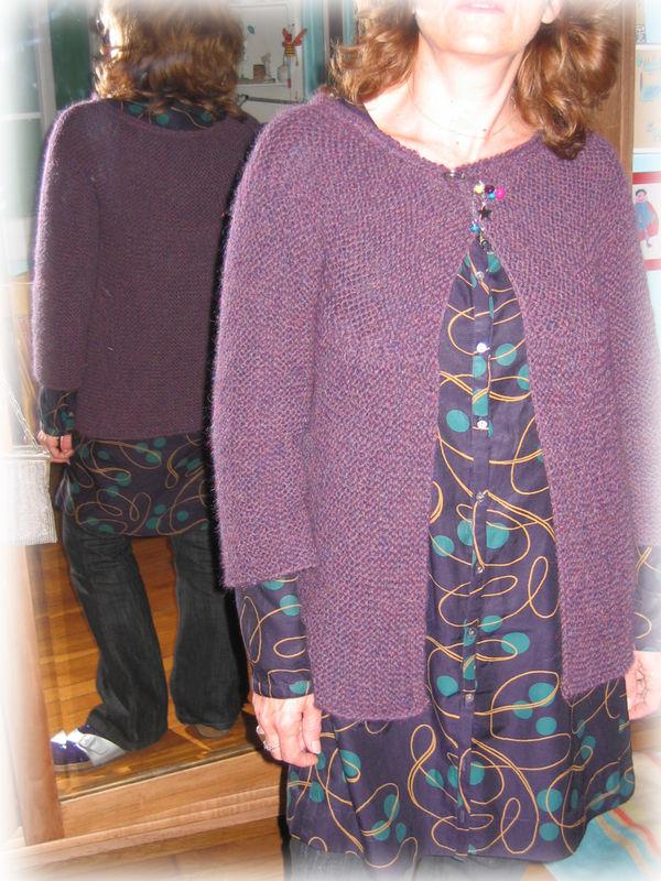GRR alpaga violet mix