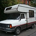 Ford transit mk2 camping car chausson acapulco