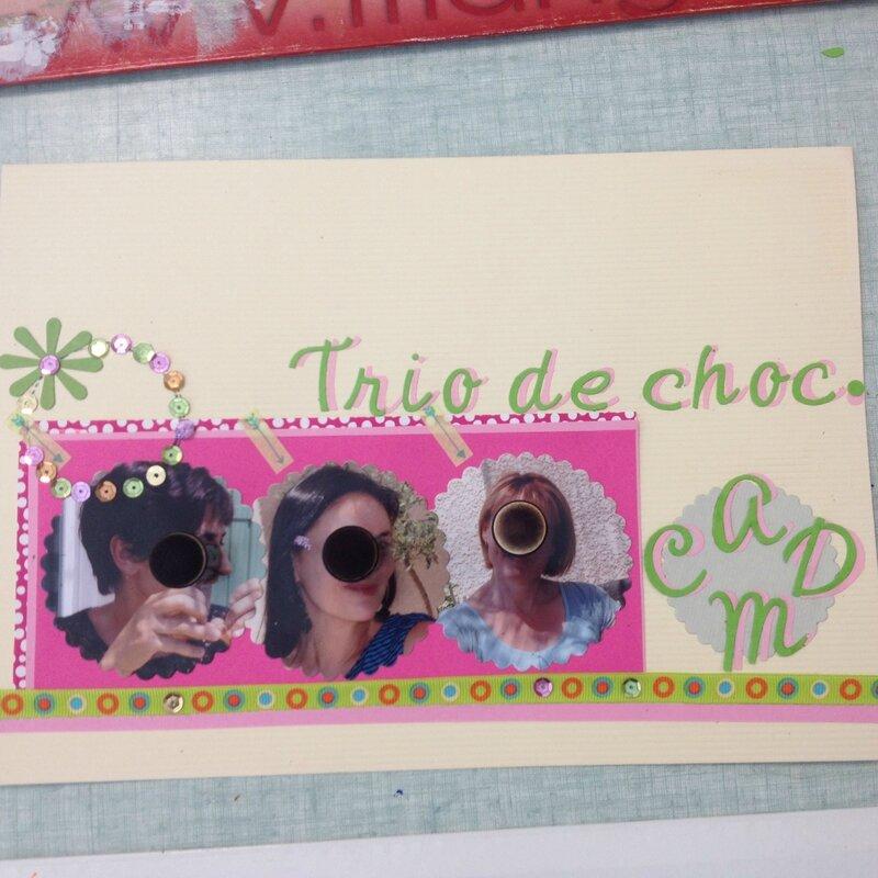 page A4 Trio de choc d'Edith
