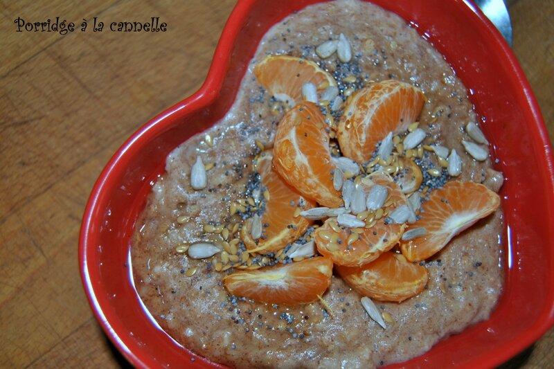 Porridge à la cannelle 2