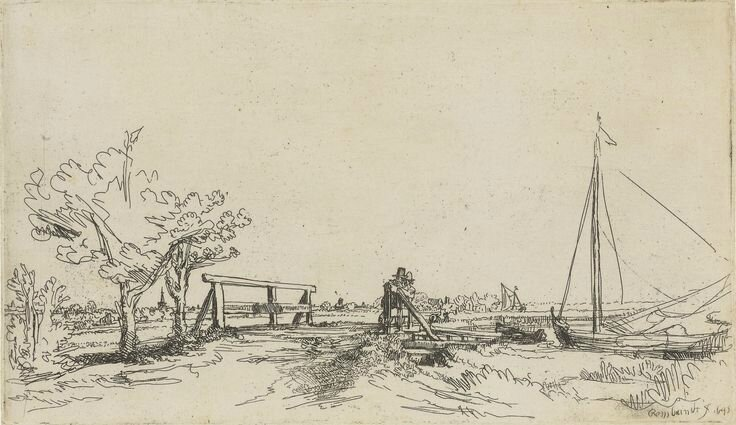 Rembrandt's Landscapes: Four Prints with Distinguished Provenances at Sotheby's