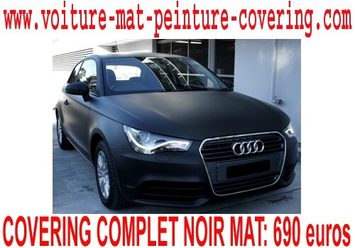 audi a1 noir mat audi a1 noir mat audi a1 covering noir. Black Bedroom Furniture Sets. Home Design Ideas