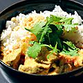Porc au curry express