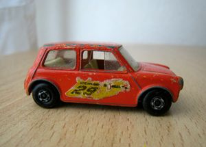 Austin mini racing n°29 03 -Matchbox- (1970)