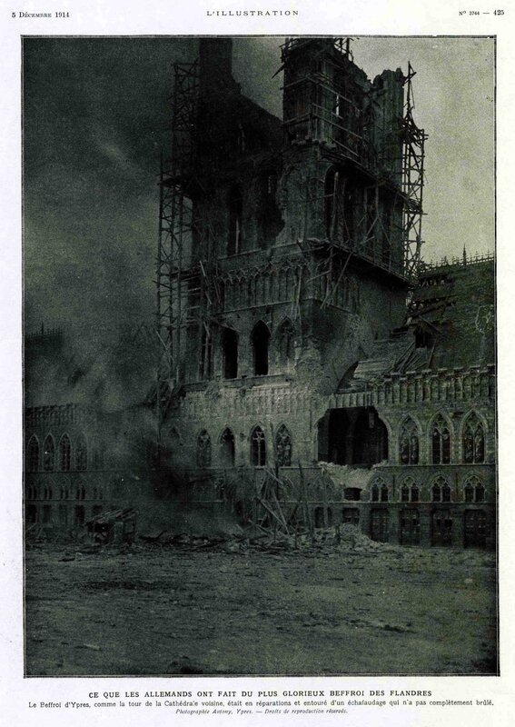 L'illustration Ypres destruction3