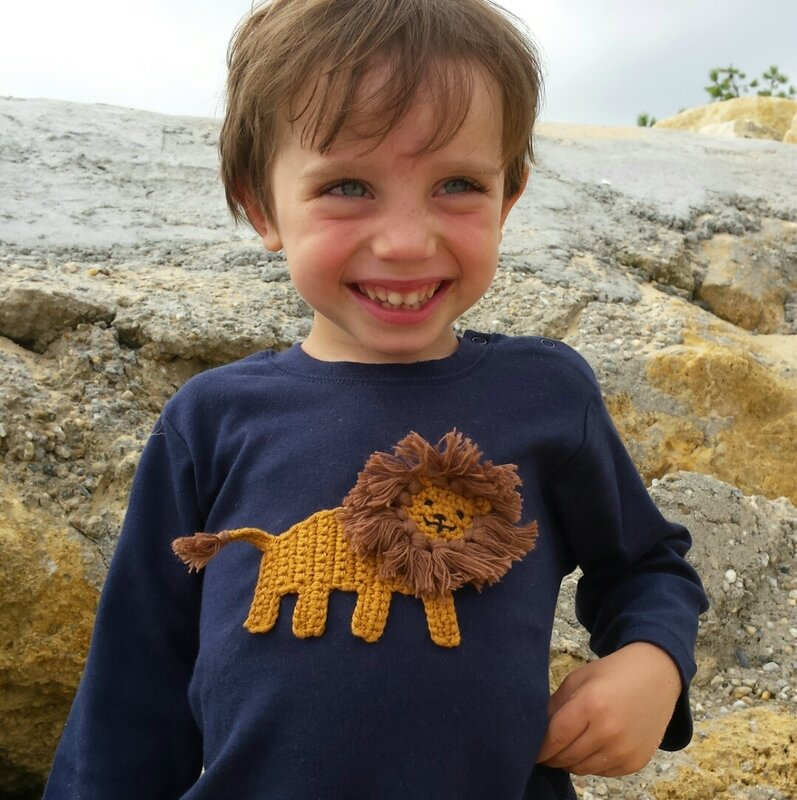 rikiki kids t-shirt bébé lion