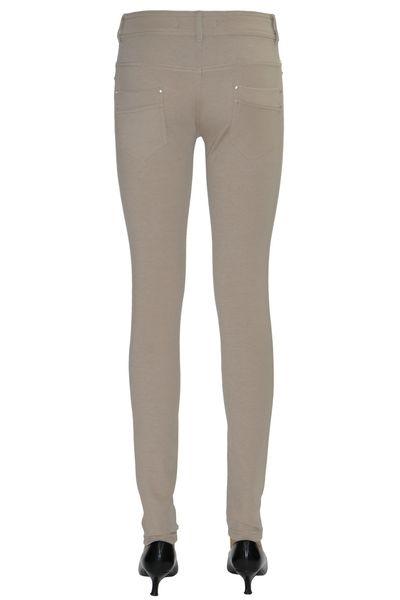 Pantalon en Maille Femme Pantalon Slim en Maille Beige