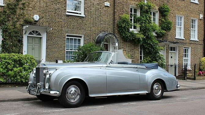 1960 Rolls-Royce Silver Cloud II Drop Head