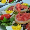 Salade fraîcheur aux accents du sud