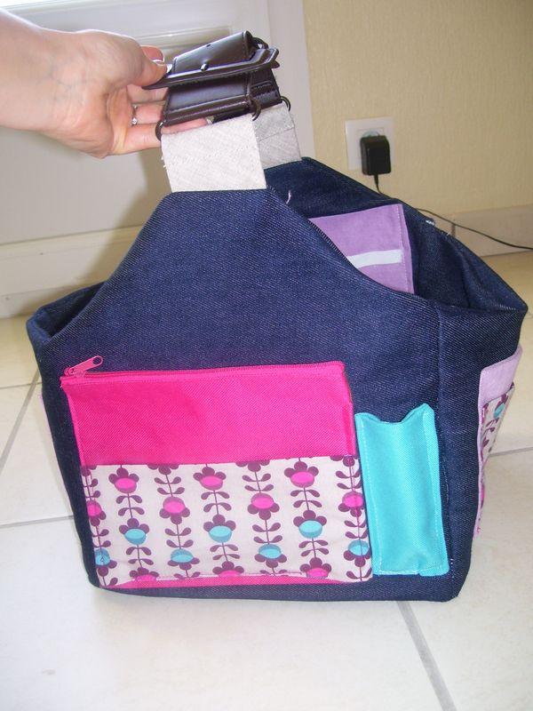 Un sac rangement pour le scrap scrap 39 popotte for Sac rangement couture