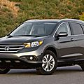 Rappel de Honda CR-V et Odyssey 2012 et 2013 ainsi d'Acura RDX 2013 (CPA)