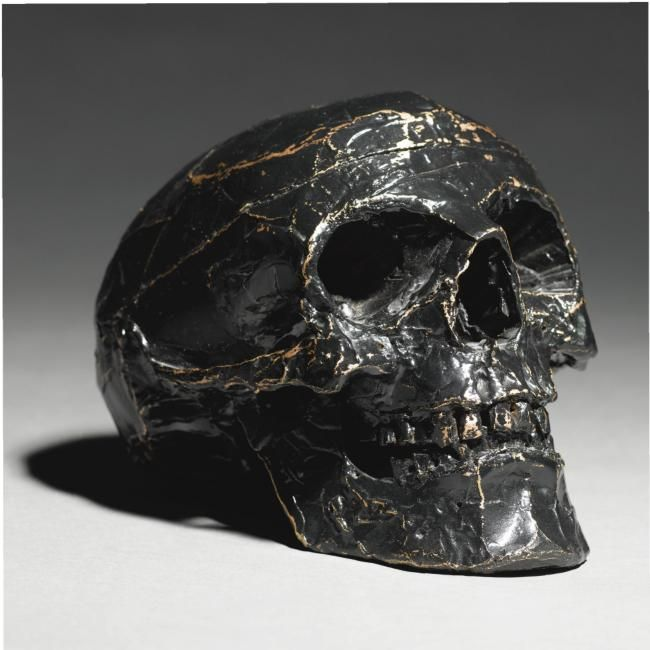 Tom Sachs (B.1966) Skull. photo Sotheby's