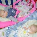 Will-Caroline 7-Alicia & Enola. 3ème Mois
