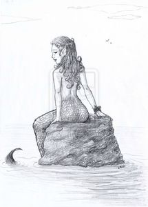 Sirene_by_illustratrice_lalex
