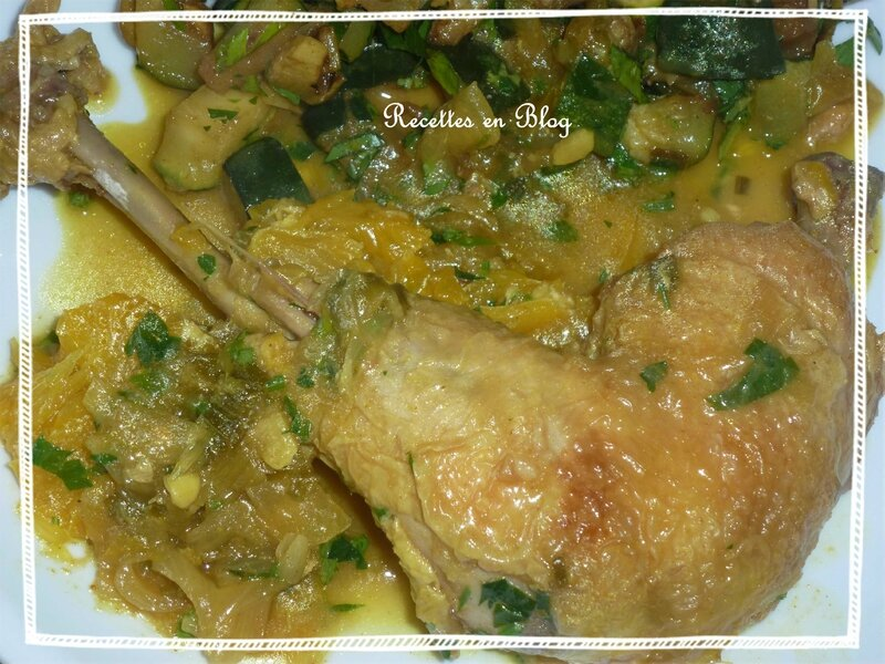poulet à l'orange curry3