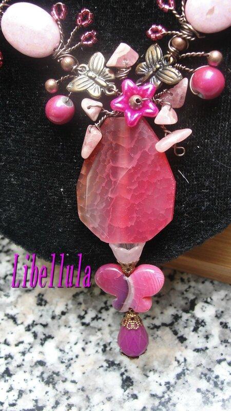 Pendentif Spring Rose