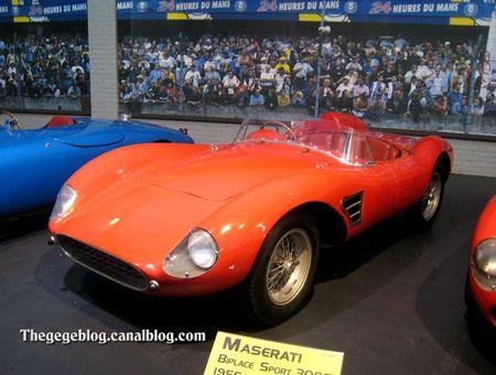 Ferrari 500 TRC biplace de 1957 (Cité de l'Automobile Collection Schlumpf à Mulhouse) 01
