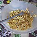 Confiture pommes-bananes-kiwis