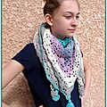 South bay shawl pour adolescentes au crochet...